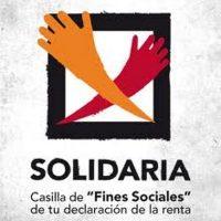 """arada con la campaña """"X Solidaria"""""""