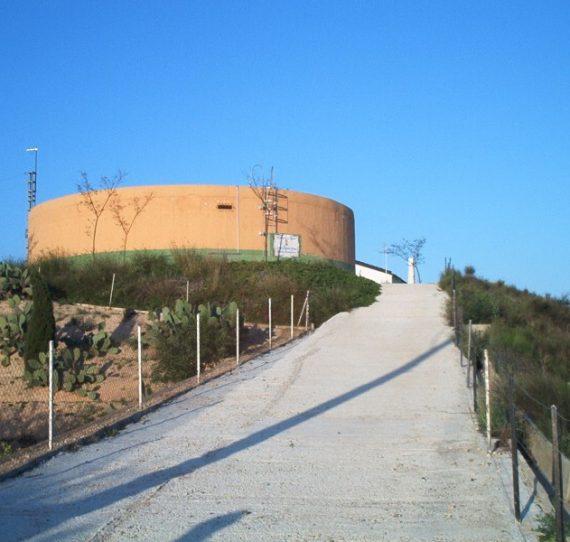 Distribución agua potable en Totana (Murcia)