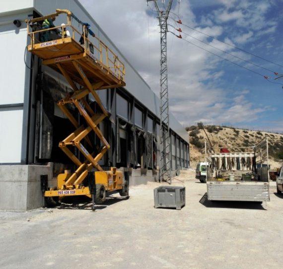 Ampliación de instalaciones para industria hortofrutícola