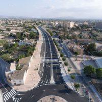 Abre al tráfico el cuarto tramo de la Ronda Central de Lorca