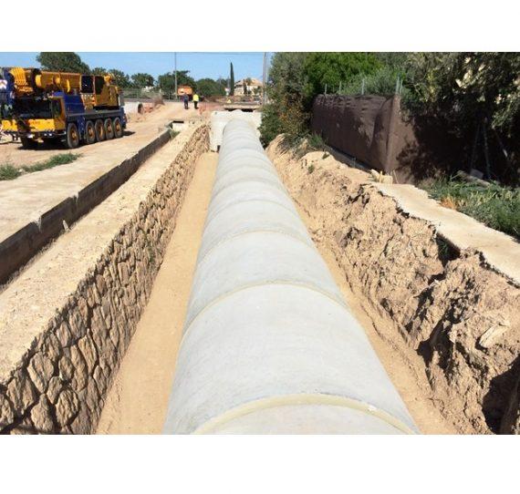 Proyecto modernización de regadíos en Tercia (Lorca)