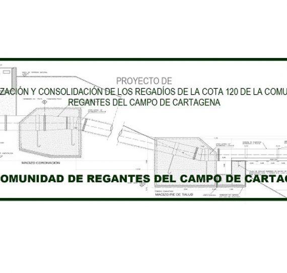 Proyecto de la cota 120. C.R. Campo de Cartagena