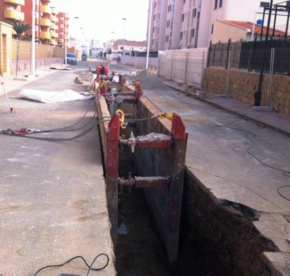 Asistencia técnica a la Dirección de obras en Proyectos de saneamiento