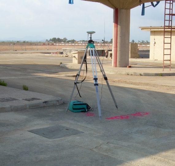 Movimiento de tierras y replanteo en Aeropuerto de San Javier